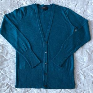Mossimo Cardigan Teal Size XS Like New!